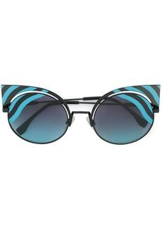 Fendi Hypnoshine cat-eye sunglasses