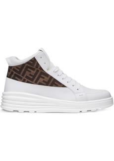 Fendi jacquard FF logo sneakers