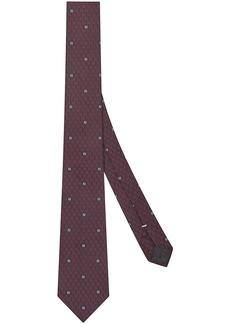 Fendi jacquard-woven tie