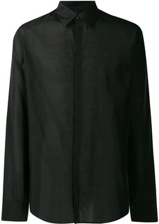 Fendi Karligraphy classic buttoned shirt