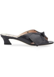 Fendi Karligraphy print FFreedom sandals