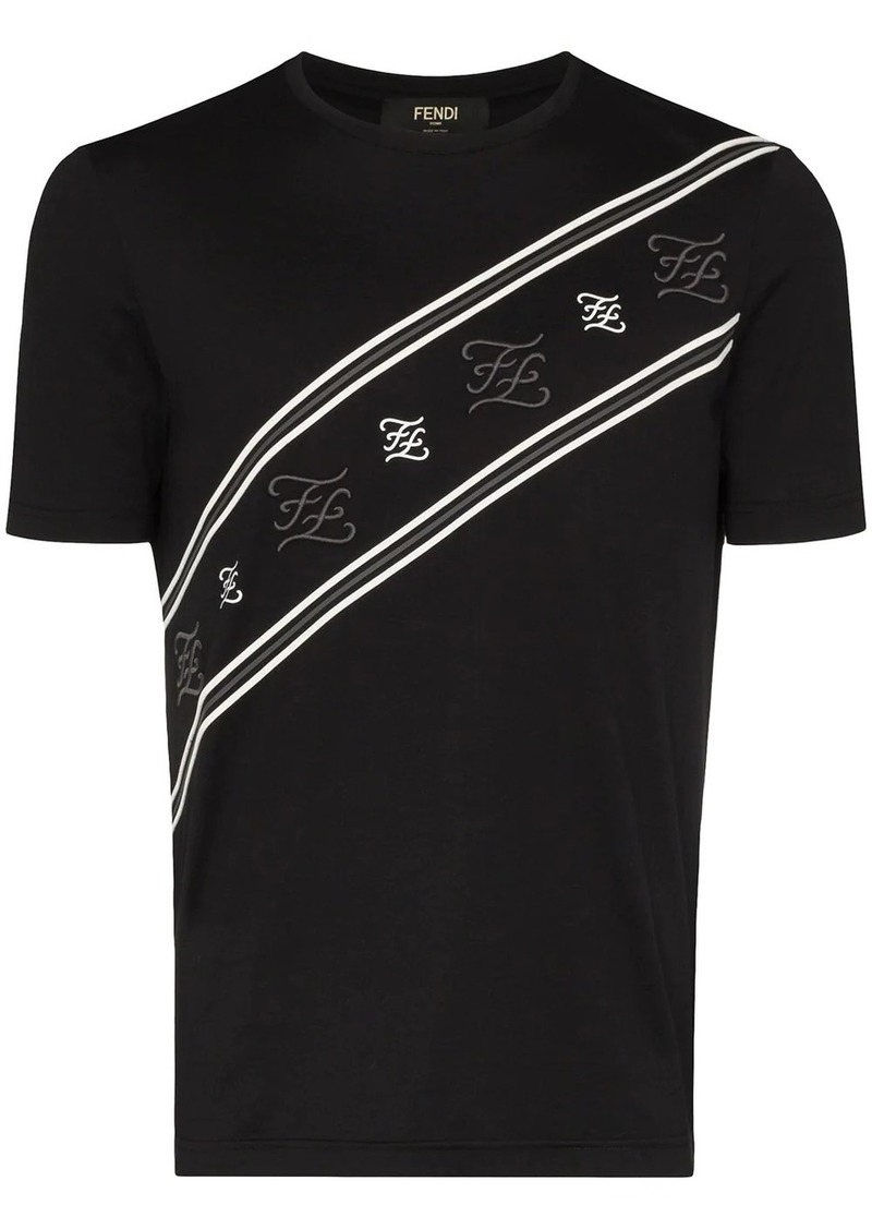 Fendi karligraphy T-shirt