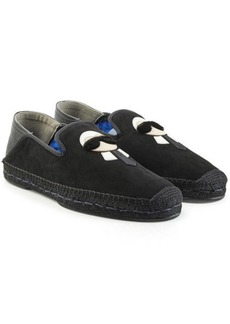 Fendi Karlito Espadrilles with Suede and Leather