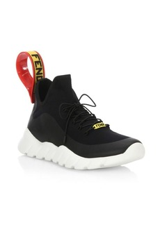 Fendi Knit Think Colorblock Sneakers