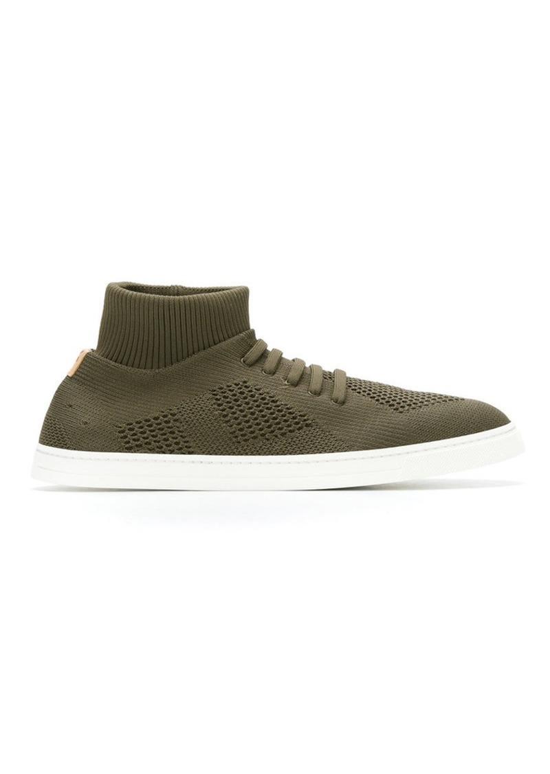 Fendi knitted slip-on sneakers