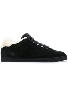Fendi lace fastened sneakers