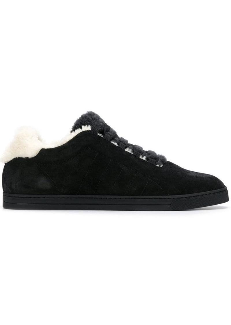 Fendi lace fastened sneakers