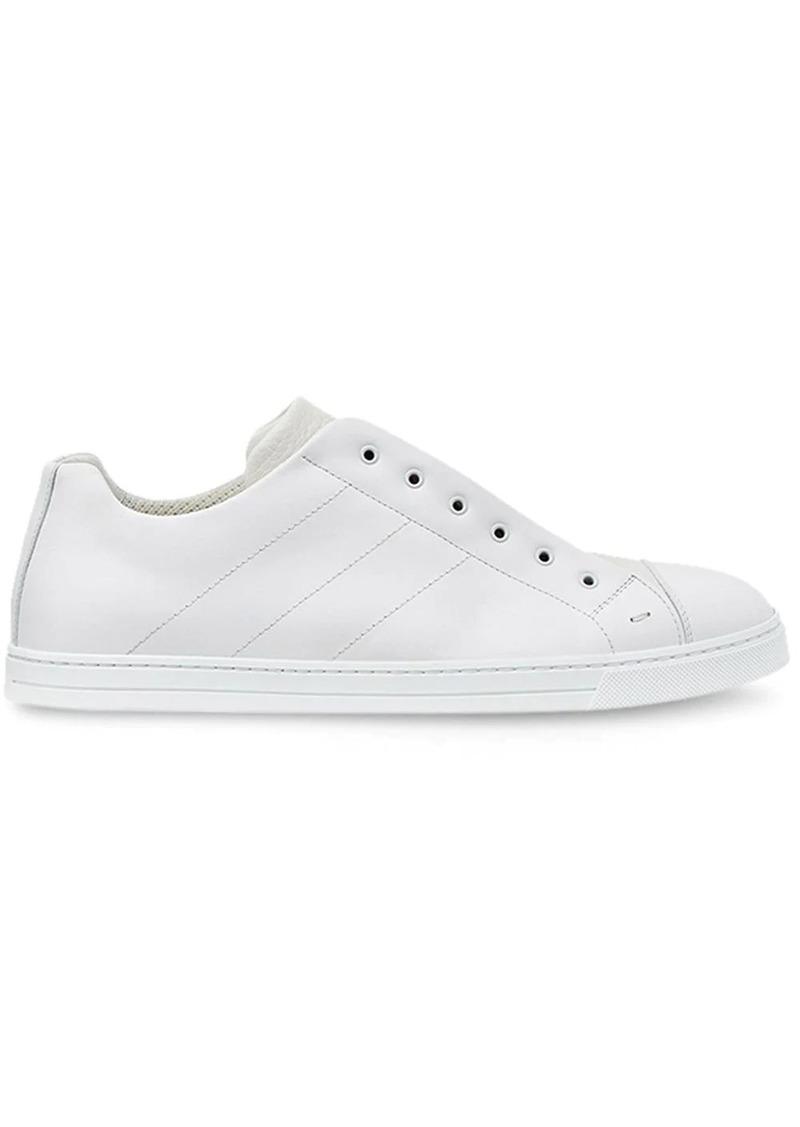 Fendi laceless low-top sneakers