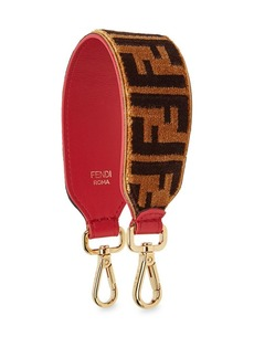 Fendi Leather Mini Strap You With Embroidered Velvet Stitch