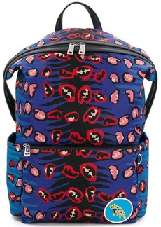 Fendi leopard print backpack