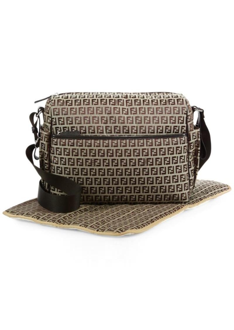 Fendi Logo Diaper Bag  4490108efe0cf