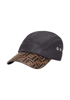 Fendi logo embossed baseball cap