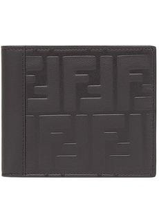 Fendi logo embossed bi-fold wallet
