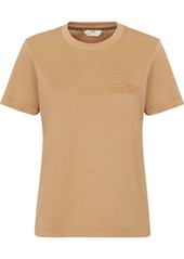 Fendi logo-embossed crew-neck T-shirt