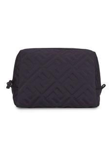 Fendi logo-embossed makeup bag