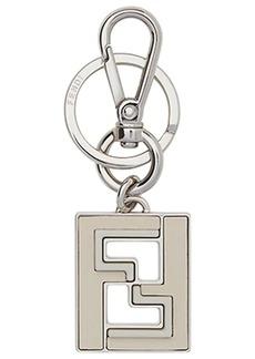 Fendi logo keyring