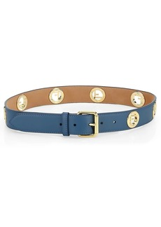 Fendi Logo Leather Belt
