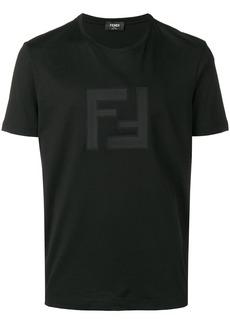 Fendi logo patch T-shirt