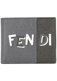 Fendi logo print bi-fold wallet