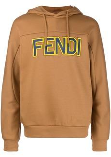 Fendi logo print hoodie