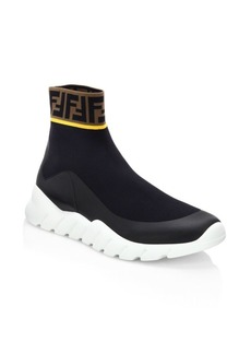 Fendi Logo Sock Runners