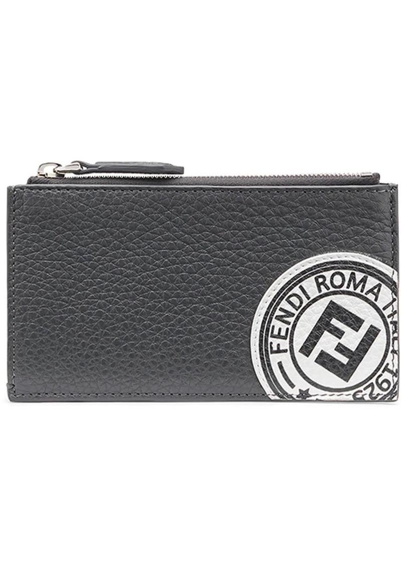 4ec749ab logo stamp zipped wallet