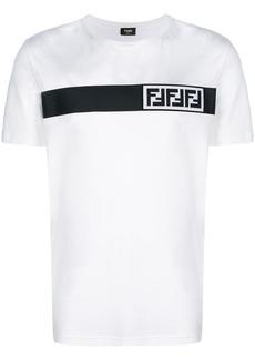 Fendi logo stripe T-shirt