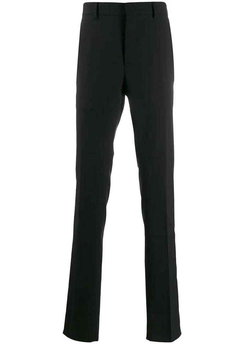 Fendi logo stripe tailored trousers