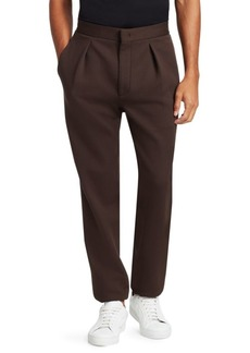 Fendi Logo Tape Pleated Trousers