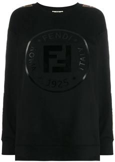 Fendi logo tape sweatshirt