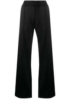 Fendi logo tape track pants