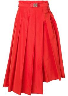 Fendi long pleated skirt