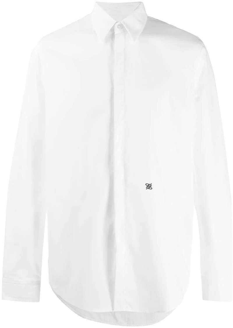 Fendi long-sleeve buttoned shirt