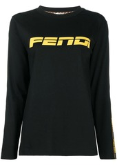 Fendi long sleeve logo T-shirt