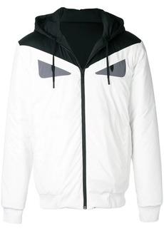 Fendi loose hooded jacket