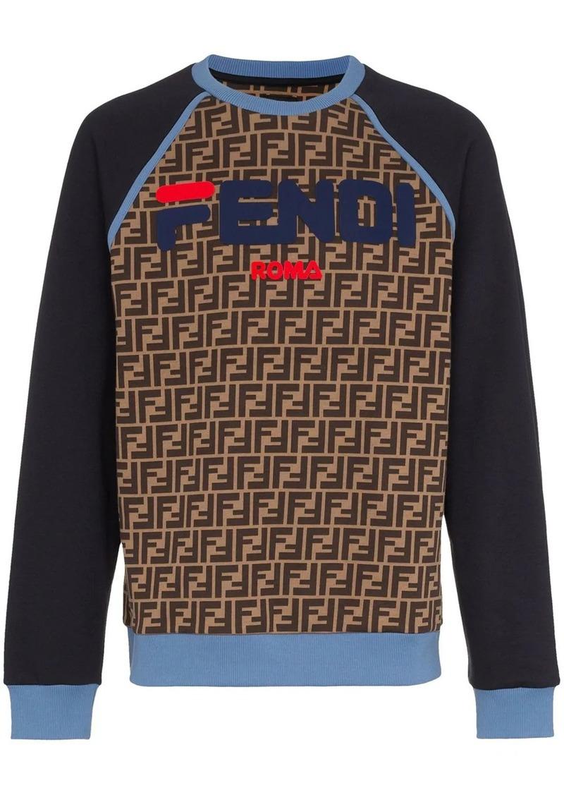 Fendi Mania logo sweatshirt