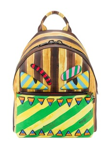 Fendi marker-style printed backpack