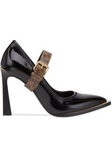 Fendi Mary Jane FFrame court shoes