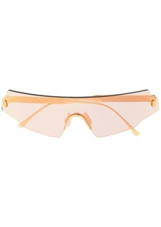 Fendi mask-frame sunglasses