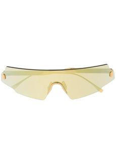Fendi mask-style sunglasses