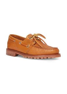 Men's Fendi Ff Embossed Boat Shoe