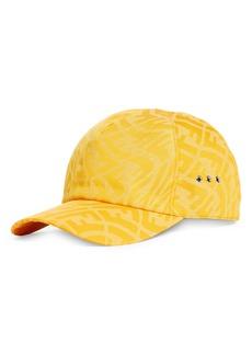 Men's Fendi Men's Fish Eye Double-F Logo Baseball Cap - Yellow