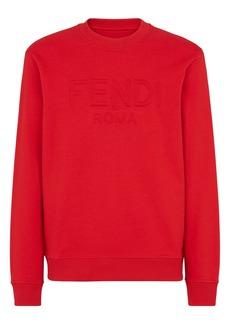 Men's Fendi Men's Logo Cotton Sweatshirt
