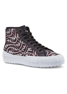 Men's Fendi X Sarah Coleman Force Ff Vertigo High Top Sneaker
