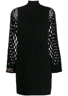 Fendi mesh knit dress