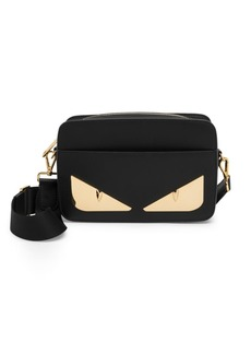 Fendi Metal Bugs Leather Camera Bag