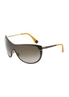 Fendi Metal Shield Sunglasses