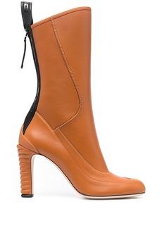 Fendi mid-calf mid-heel boots