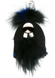 Fendi mini 'Karlito' backpack bag charm