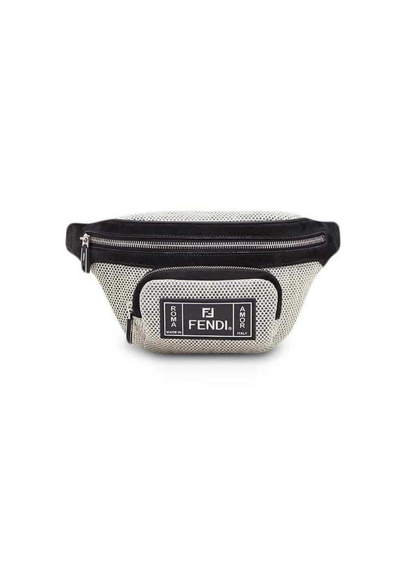 Fendi mirco-perforated FF belt bag